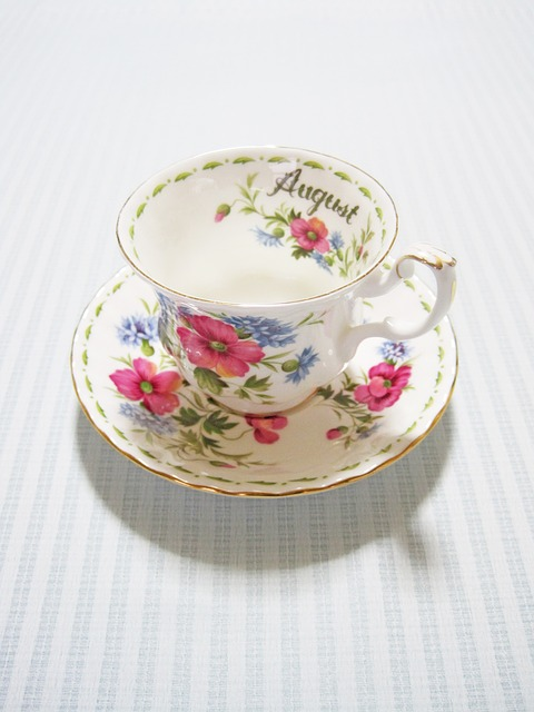 Tea Time, Cup, August, Drink