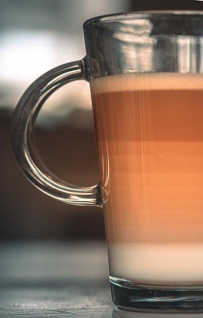 Coffee, Milk, Heat, Autumn, Cappuccino, Drinking