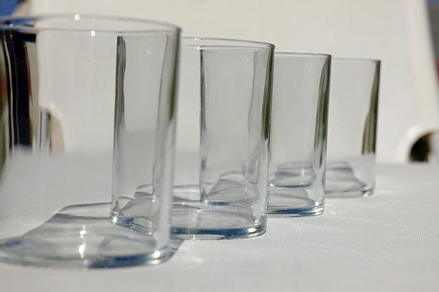 Water Glass, Drinking Glass, Water Glasses