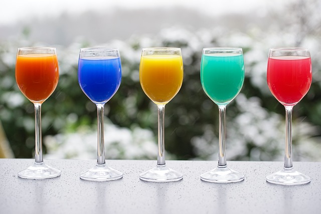 Cocktails, Drinks, Beverages, Juices, Juice Glasses