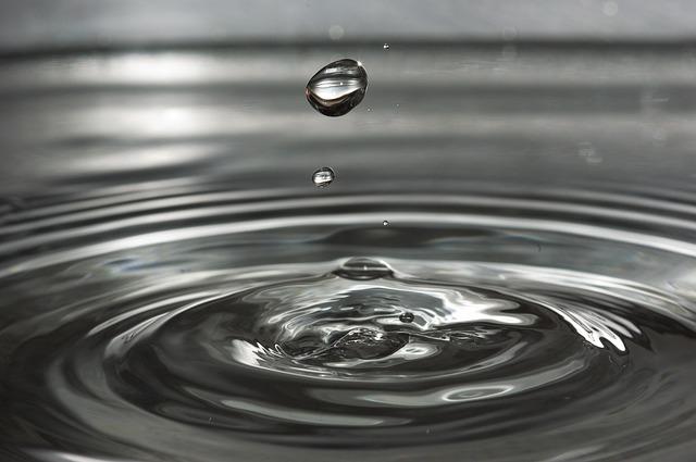 Drip, Drop Of Water, Wave, Wet, Water, Circle