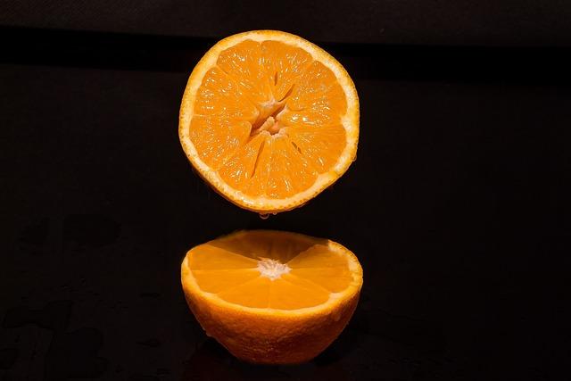 Orange, Oranges Half, Drip, Healthy, Fruit, Vitamins