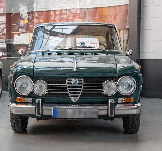 Auto, Alfa Romeo, Giulia Super, Vehicle, Drive