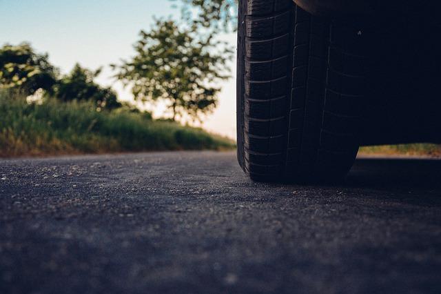 Car, Road, Tire, Asphalt, Vehicle, Drive, Driving