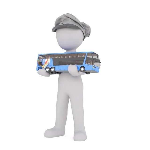 Driver, Bus, Befordern, Promotion, Carry, Transport