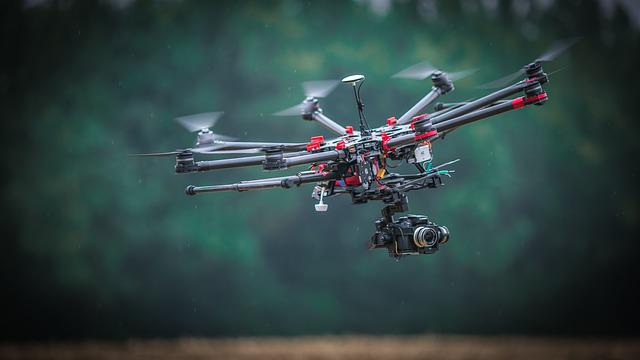 Drone, Aircraft, Wing, Flight, Transport, Air, Fly
