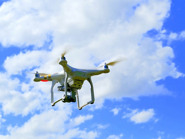 Drone, Quadcopter, Quadrocopter, Flying Machine, Rotors