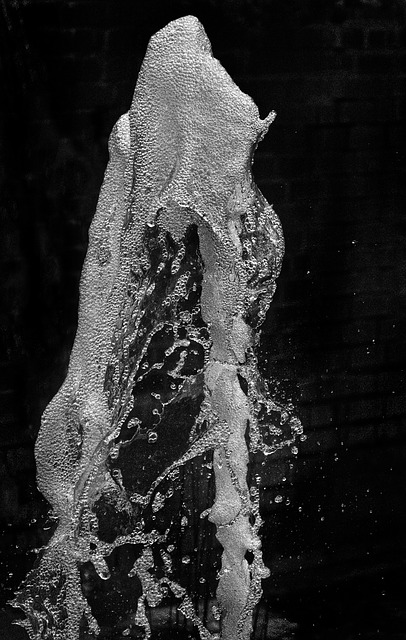 Fountain, Highspeed Photography, Drop Of Water