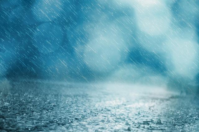 Rain, Background, Drop, Weather, Water, Storm, Shower