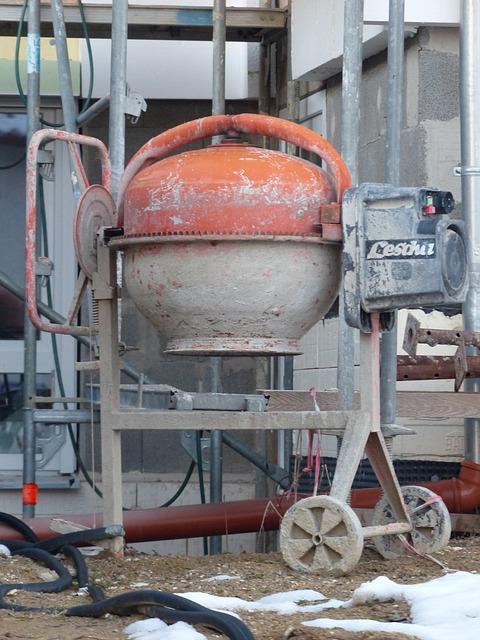 Drum Mixer, Concrete Mixer, Concrete