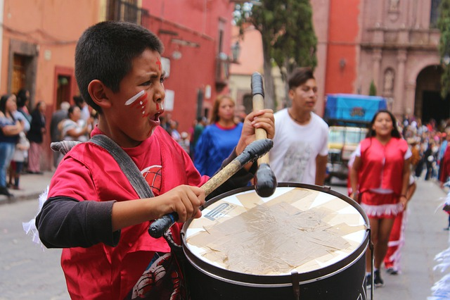 People, Drum, Street, Battery, Percussion Instrument