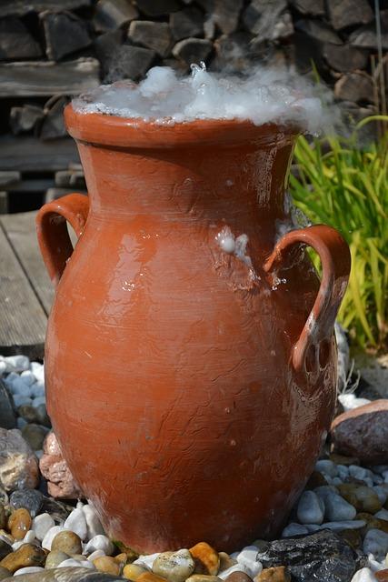 Amphora, Krug, Dry Ice