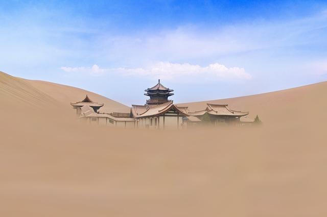 Sand, Desert, Dry, Sky, Landscape, Travel, Nature