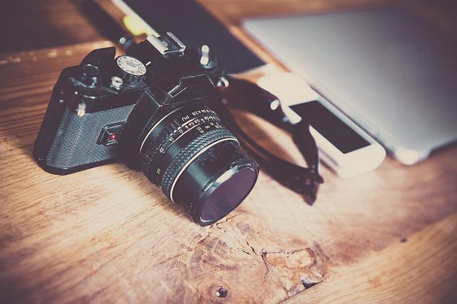 Camera, Photography, Photograph, Office, Dslr