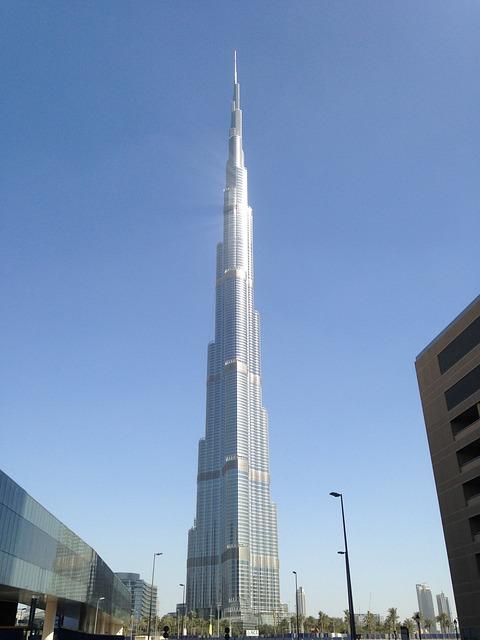 Burj Khalifa, Dubai, U A E, Building