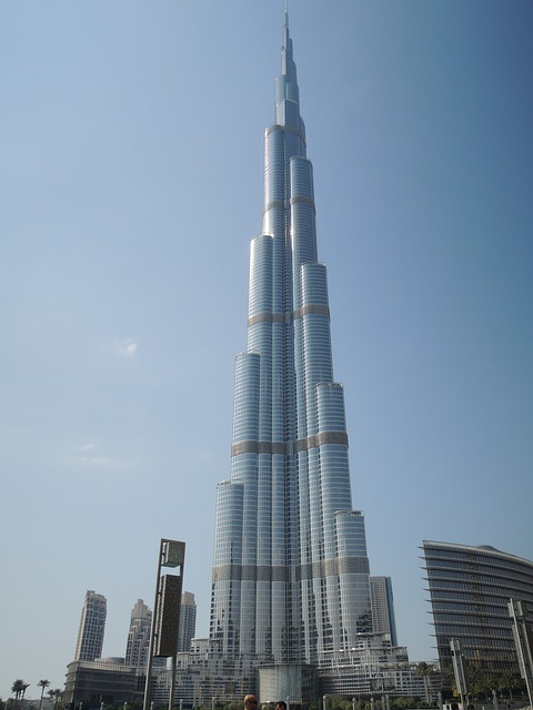 Dubai, Uae, Emirates, Emirate, Desert, Burj Khalifa