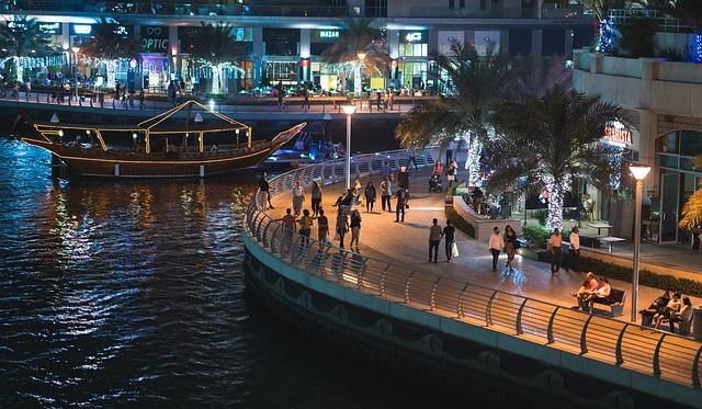 Dubai, Dubai Marina, United Arab Emirates, Marina Boat