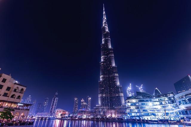 Burj Khalifa, Emirates, Dubai, Uae, Architecture