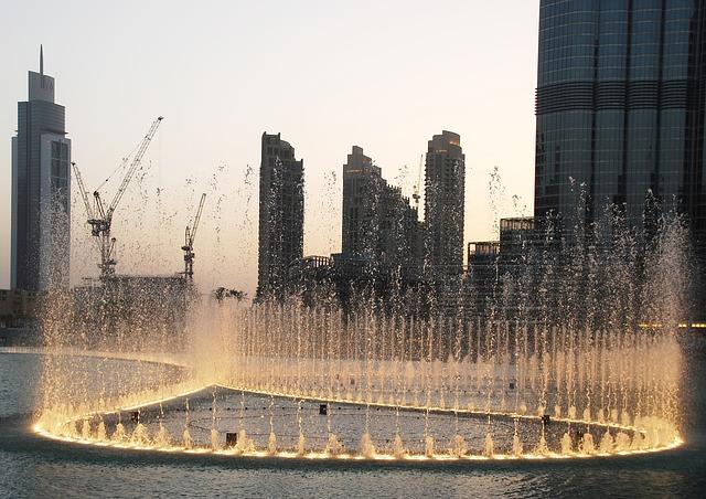 Water Games, Dubai, Dubai Fountain