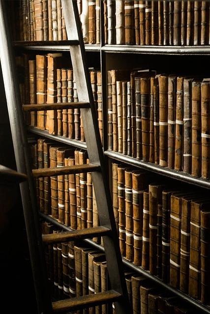 Books, Library, Dublin, Ireland, Abroad