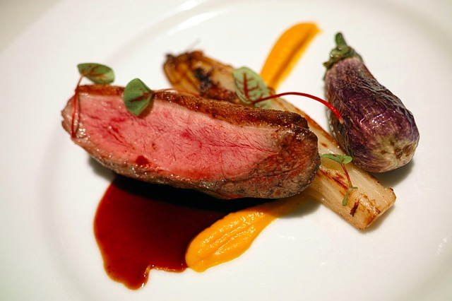 Restaurant, French Cuisine, French, Duck, Duck Meat
