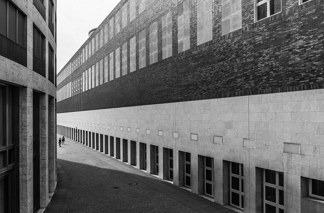 Architecture, Düsseldorf, Court Of Honor, Art Palace