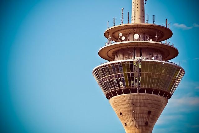 Architecture, Tv Tower, Landmark, Düsseldorf, Sky