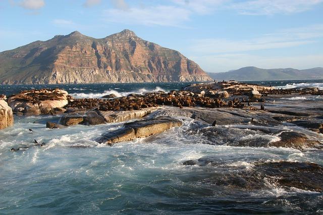 Duiker Island, South Africa, Cape, Town, Ocean