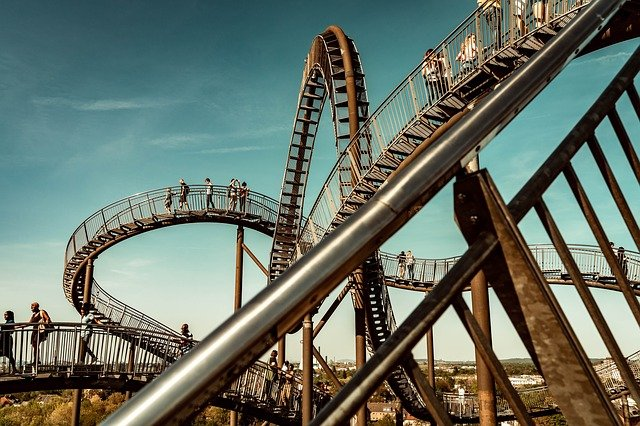 Duisburg, Tiger And Turtle, Ruhr Area, Looping, Artwork