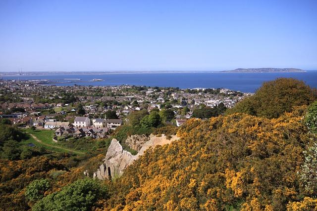 Dublin Bay, View, Dun Laoghaire, Dublin, Ireland