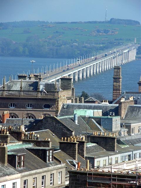 Bridge, Road, Dundee, Village, Town