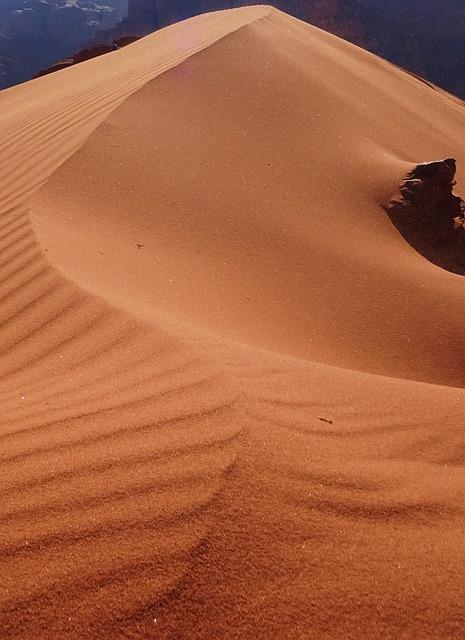 Sand, Desert, Dune, Jordan