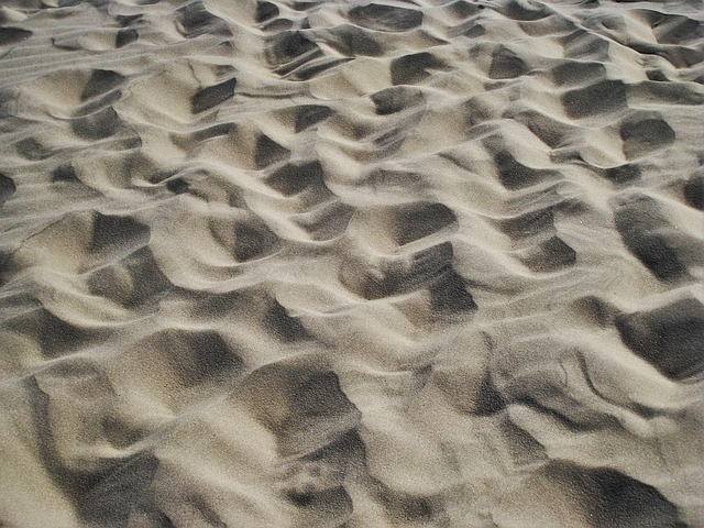 North Sea Dune Sand, Dune, Denmark, By The Wind Designs