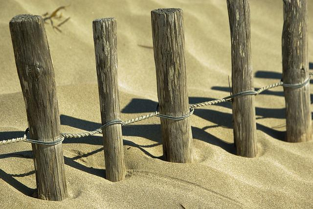 Dunes, Stakes, Sand