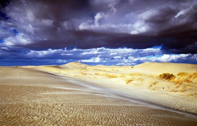 Sand, Sand Hill, Dunes, Nebraska, Usa, America