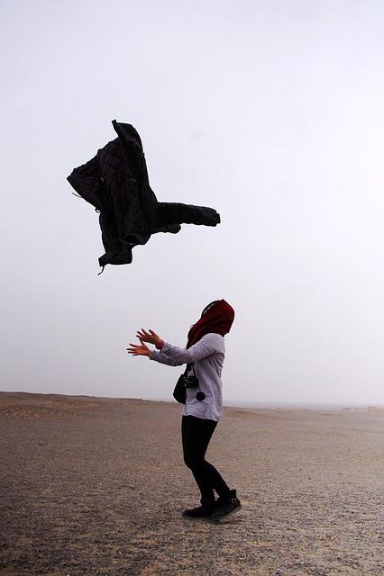 Tourism, Desert, Dunhuang, Gansu Province