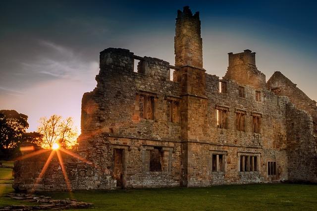 Egglestone Abbey, Abbey, Ruin, Durham, Barnard, Castle