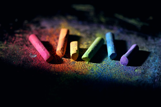 Chalk, Colorful, Dust, School, Supply, Pastel, Color