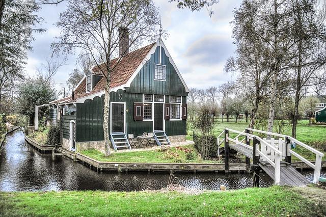 Zaandam, House, Dutch, Netherlands, Zaanse, Schans