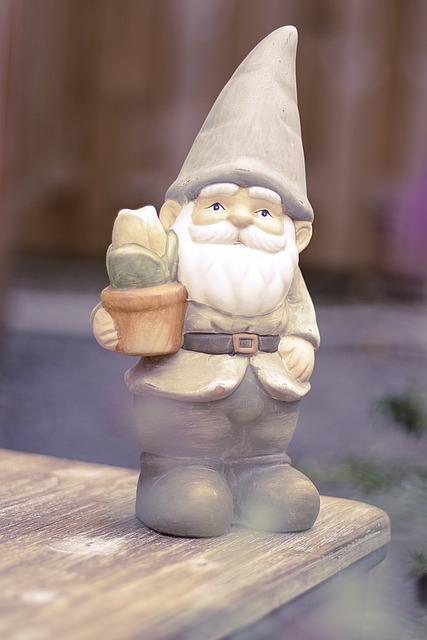 Garden Gnome, Dwarf, Garden, Funny, Cute, Imp, Figure