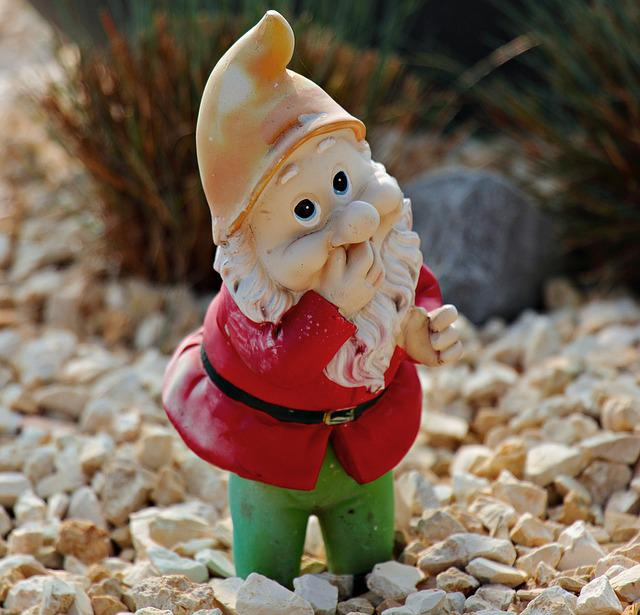 Garden Gnome, Dwarf, Decoration, Figure, Imp, Deco