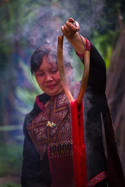 Dyed Silk, Kalasin, Thailand