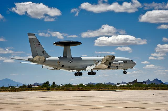 E-3 Sentry, Awacs, United States, Air Force, Military