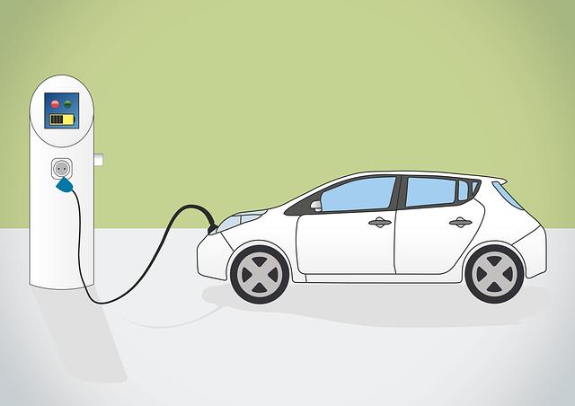 Electric Car, Charging Station, E Car, E-mobile