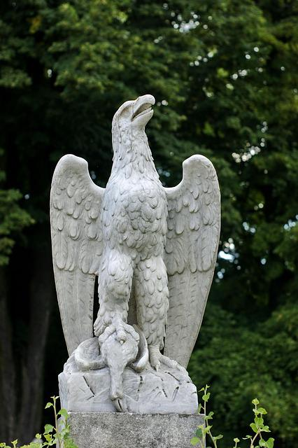 Eagle, Architecture, Monument, Culture, Stone, Hunt