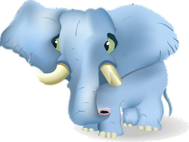 Elephant, Tusks, Trunk, Eared, Mammal, Large, Tusk