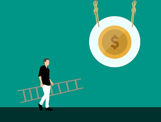 Money, Earn, Way, Reach, Ladder, Success, Successful