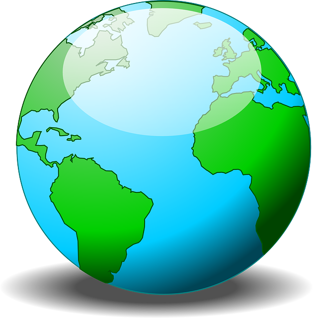 World, Earth, Globe, Planet, Continents, Sphere