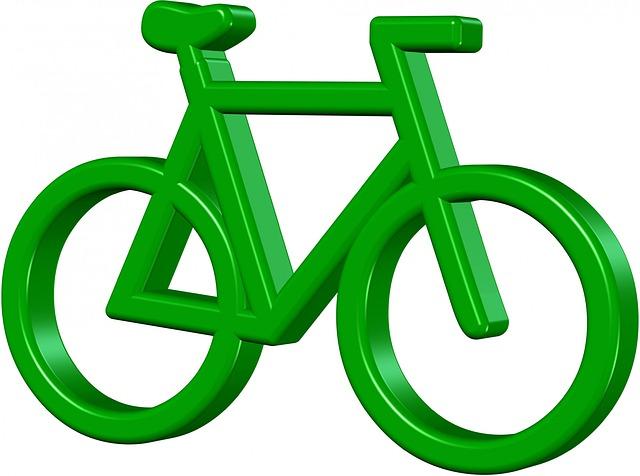 Bike, Biking, Green, Pedal, Save, Earth, Eco, Pollution