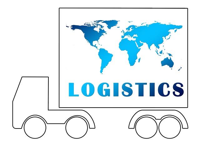 Logistics, Truck, Silhouette, Contour, Earth